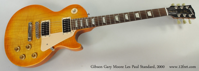 Gibson Gary Moore Les Paul Standard, 2000 Full Front View