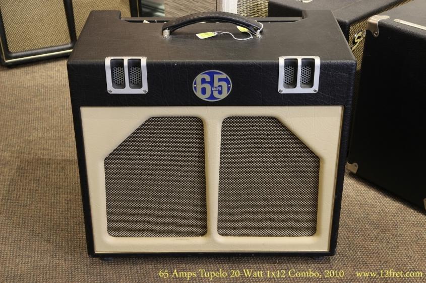 65 Amps Tupelo 20-Watt 1x12 Combo, 2010  Full Front View
