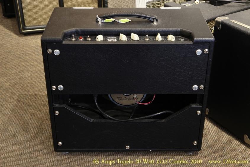 65 Amps Tupelo 20-Watt 1x12 Combo, 2010  Full Rear View