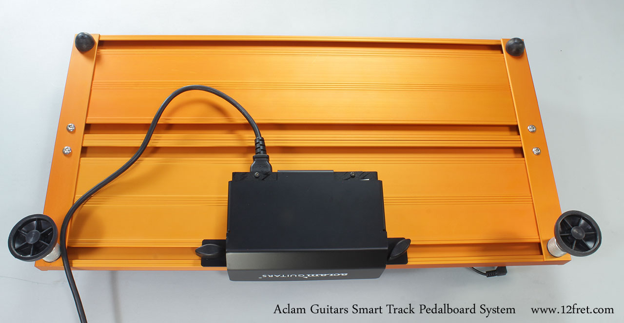 Aclam Guitars Smart Track Pedalboard System Bottom View