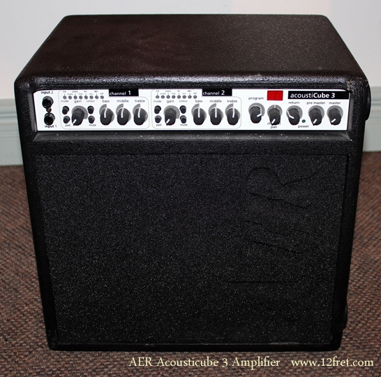 AER AcoustiCube 3 Amplifier full front view