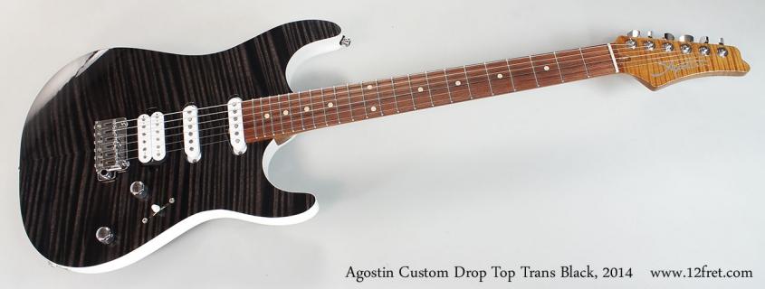 Agostin Custom Drop Top Trans Black, 2014 Full Front View