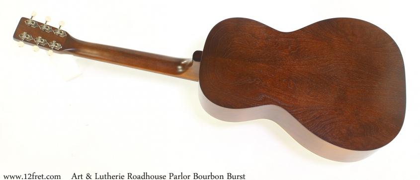 Art & Lutherie Roadhouse Parlor Bourbon Burst Full Rear View