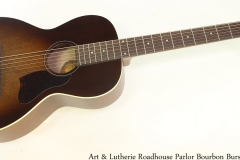 Art & Lutherie Roadhouse Parlor Bourbon Burst Full Front View