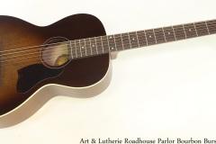Art & Lutherie Roadhouse Parlor Bourbon Burst Full Front View