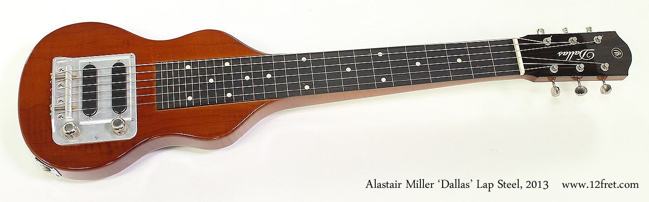 Alastair Miller 'Dallas' Lap Steel, 2013 Full Front View