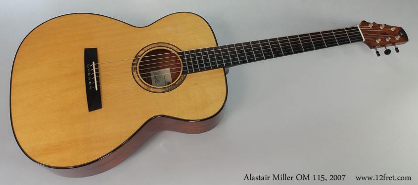 Alastair Miller OM 115, 2007 Full Front View