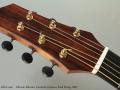Fabrizio Alberico Cocobolo Cutaway Steel String, 2003 Head Front