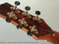 Fabrizio Alberico Cocobolo Cutaway Steel String, 2003 Head Rear