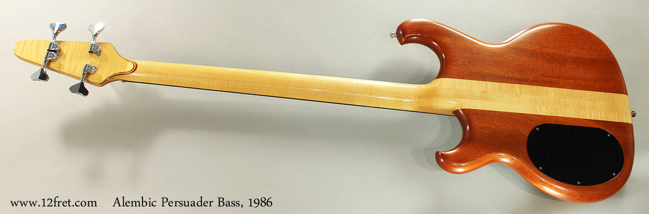 Alembic Persuader Bass, 1986 Full Rear View