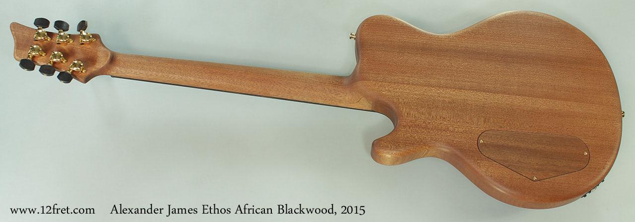 Alexander James Ethos African Blackwood, 2015 Full Rear View