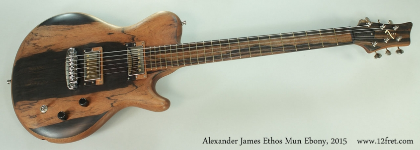 Alexander James Ethos Mun Ebony, 2015 Full Front View