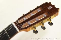 Alhambra 10 Fp Pinana Flamenco Negra Guitar Head Front VIew