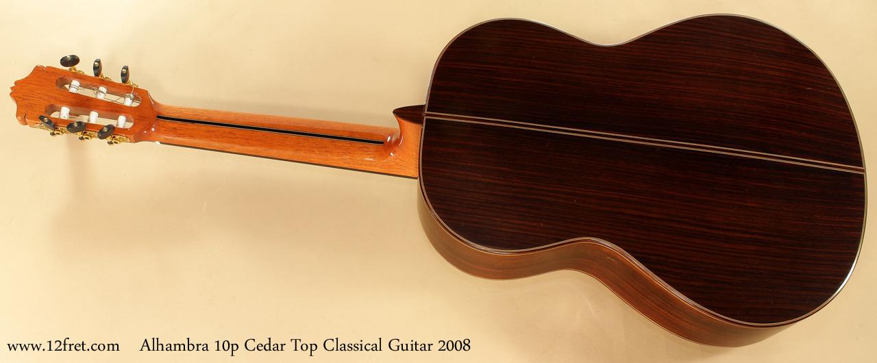 Alhambra Model 10p Cedar Classical Guitar 2008 head front