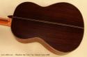 Alhambra Model 10p Cedar Classical Guitar 2008 back