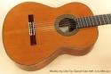 Alhambra Model 10p Cedar Classical Guitar 2008 top