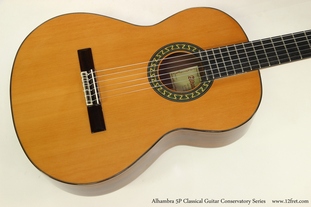 Alhambra 5P Classical Guitar Conservatory Series   Top View