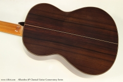 Alhambra 5P Classical Guitar Conservatory Series   Back View