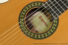 Alhambra 5P Classical Guitar Conservatory Series   Rosette and Label View