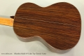 Alhambra Model 7P Cedar Top Classical Guitar Back View