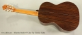 Alhambra Model 7P Cedar Top Classical Guitar Full Rear View