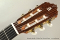 Alhambra Model 7P Cedar Top Classical Guitar Head Front View