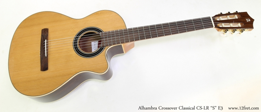 "Alhambra Crossover Classical CS-LR ""S"" E3    Full Front View"