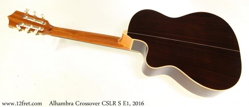 Alhambra Crossover CSLR S E1, 2016 Full Rear View