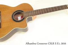 Alhambra Crossover CSLR S E1, 2016 Full Front View