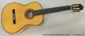 Alhambra Model 10fc Flamenco Guitar Full Front View