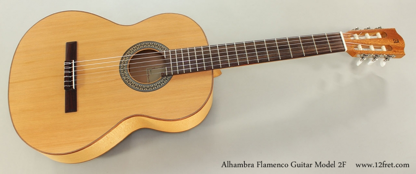 Alhambra Flamenco Guitar Model 2F Full Front View