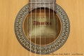 Alhambra Flamenco Guitar Model 2F Label View
