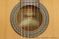 Alhambra Flamenco Guitar Model 2F Label View