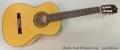Alhambra Model 3f Flamenco Guitar Full Front View