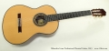 Alhambra Linea Professional Classical Guitar, 2013 Full Front View