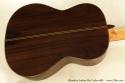 Alhambra Luthier Rio Concert Classical Cedar 685 back