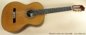 Alhambra Luthier Rio Concert Classical Cedar 685 full front view