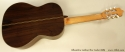 Alhambra Luthier Rio Concert Classical Cedar 685 full rear view
