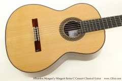 Alhambra Menguel y Margarit Series C Concert Classical Guitar  Top View