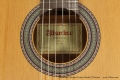 Alhambra Classical Guitar Model Z-Nature Label View