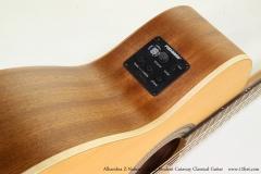 Alhambra Z-Nature CW EZ Student Cutaway Classical Guitar   Controls View