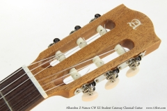 Alhambra Z-Nature CW EZ Student Cutaway Classical Guitar   Head Front View