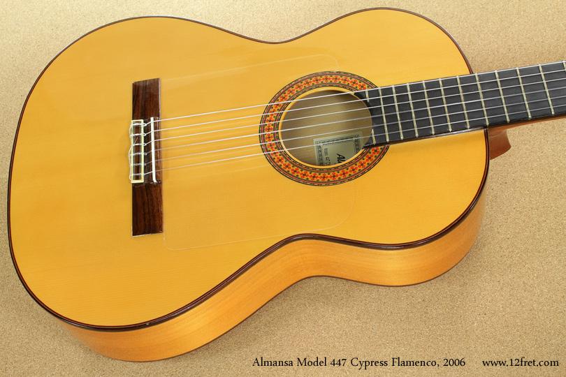 Almansa Model 447 Cypress Flamenco, 2006  top