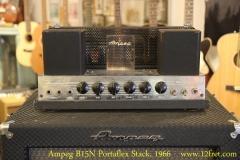 Ampeg B15N Portaflex Stack, 1966 Head Front View
