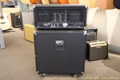 Ampeg SVT Classic Head and 1x15 Cabinet, 2008 Full Rear View