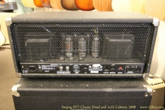 Ampeg SVT Classic Head and 1x15 Cabinet, 2008 Head Rear View