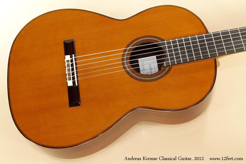 Andreas Kirmse Classical Double Top Guitar 2012 top