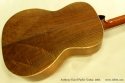 Anthony Karol parlor guitar 2002 back