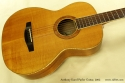 Anthony Karol parlor guitar 2002 top