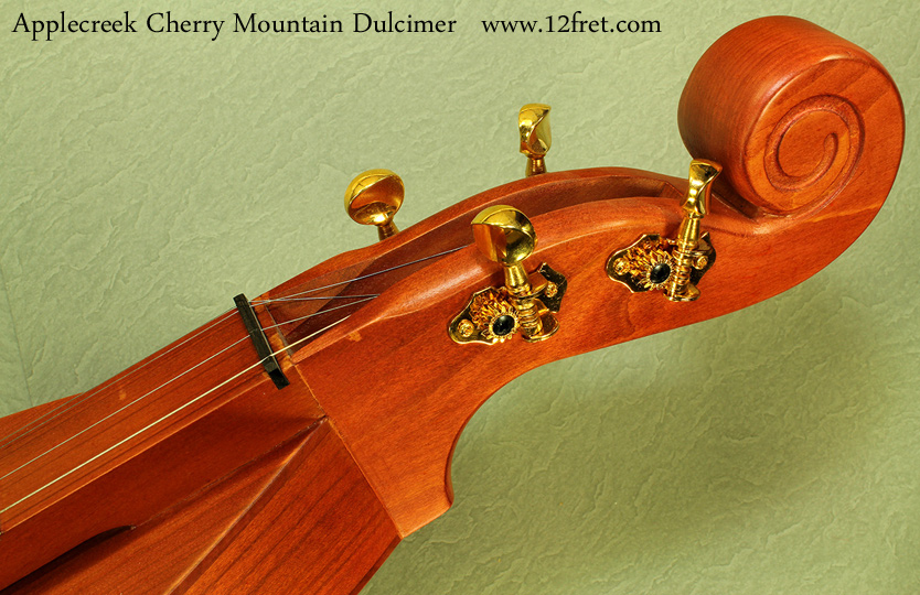 Applecreek mountain dulcimer head